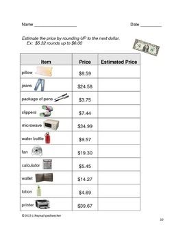 Purchasing Skills For Secondary Special Education Life Skills Students