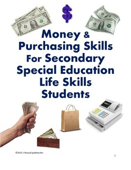 Purchasing Skills For Secondary Special Education Life Ski