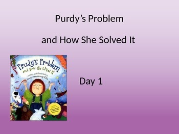 Purdy's Problem powerpoint and interactive notebook