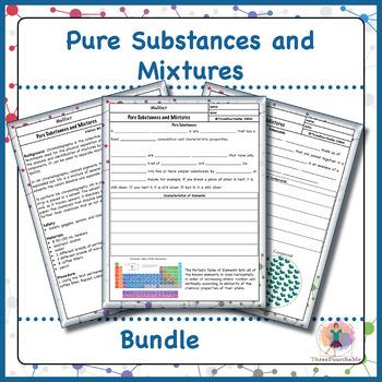 Pure Substances and Mixtures Bundle
