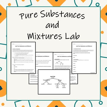 Chemistry: Pure Substances and Mixtures Lab