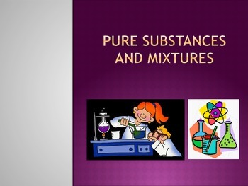 Pure Substances and Mixtures Powerpoint