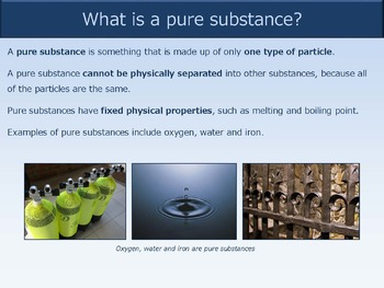 Pure Substances and Mixtures [Presentation]