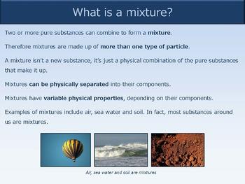 Pure Substances and Mixtures [Presentation]