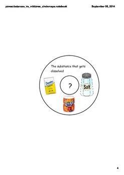 Pure Substances vs. Mixtures Circle Maps (Notebook)