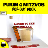 Purim 4 Mitzvos Pop-Out Book!