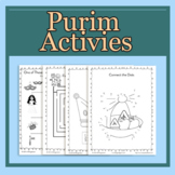 Purim Activity Pack