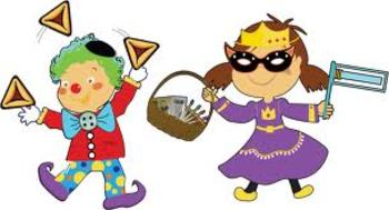 Purim Clip Art for the Jewish Holiday