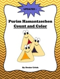 Purim Hamantaschen Count and Color