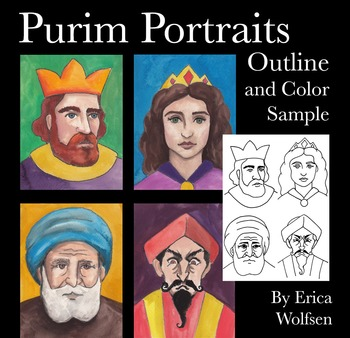 Purim Portraits