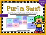 Purim Vocabulary SWAT and MINGLE