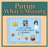 Purim Game What's Missing for POWER POINT