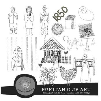 Puritan Clip Art