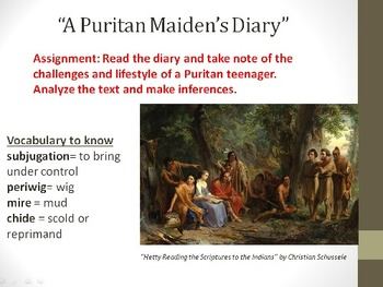 Puritan Diaries: The Fake and The Fascinating