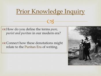 Puritan Era - Early American Literary Movement Series, part I
