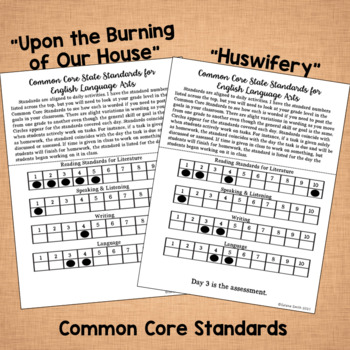 "Puritan Poetry - ""Huswifery"" and ""Upon the Burning of Our House"""