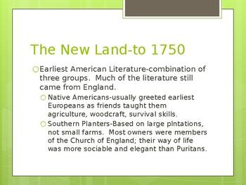 Puritan period literature