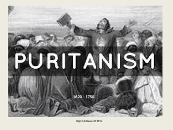 Puritanism: Fire and Brimstone