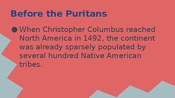 Puritanism Historical Background