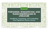 Puritanism, Romanticism, and Transcendentalism: Lit. Genres PPT w/Analysis!