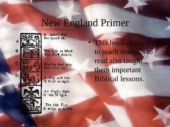Puritanism/Facts about the 13 Colonies 21 slides