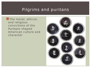 Puritanism: Background Powerpoint