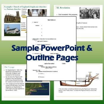 Puritans PowerPoint: Introduces Puritanism, Foundation of Pilgrims' Beliefs