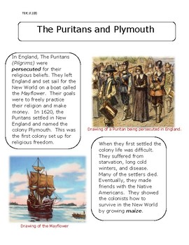 Puritans and Plymouth