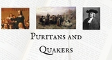 Puritans and Quakers PowerPoint