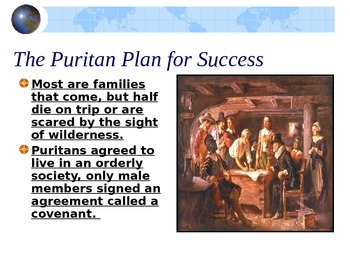 Puritans and The Crucible Background PowerPoint
