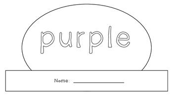Purple Activity Book!