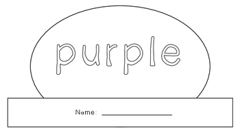 Purple Activity Book!