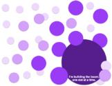 Purple BOOMdot Poster Template