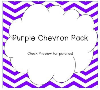 Purple Chevron Pack