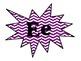 Purple Chevron Word Wall Headers