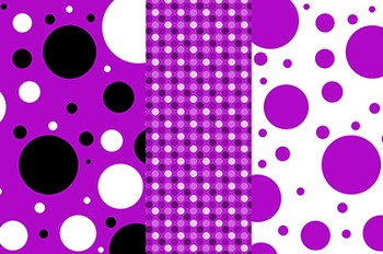 Digital Background Papers - Purple
