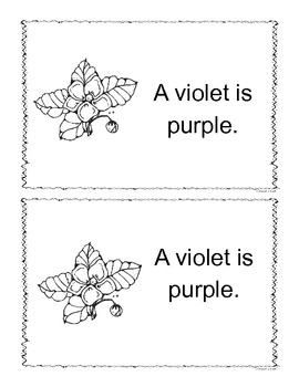 Purple Color Book