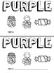 Purple (Color) Emergent Reader and Teacher Book