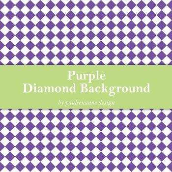 Purple Diamond Background