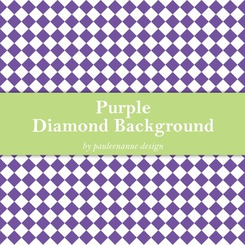 Purple Diamond Background