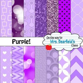 Purple Digital Papers