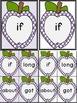 Purple Dot Apple Dolch Third Grade Sight Word Flashcards and Posters