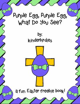 Purple Egg, Purple Egg Easter Book FREEBIE