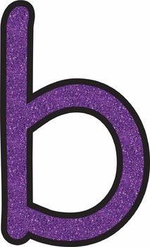 Purple Glitter Characters * Alphabet * Numbers * Symbols * Punctuation