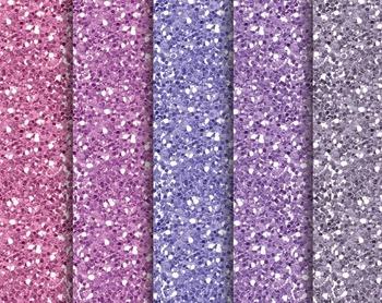 Purple Glitter Texture, Digital Paper, Digital Design, Purple Set #267