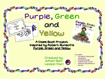 """""""Purple, Green and Yellow"""" Class Book"""