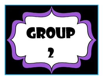 Purple Group Numbers