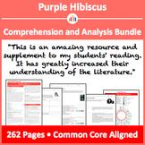 Purple Hibiscus Worksheets Teaching Resources Tpt