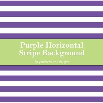 Purple Horizontal Stripe Background