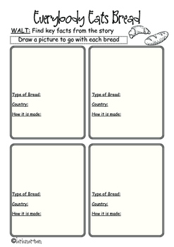 Purple Level 19 and 20 follow up Reading Activities